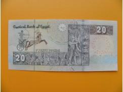 bankovka 20 egyptských liber