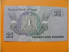 bankovka 25 piastrů vvvvvvv