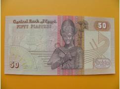 bankovka 50 egyptských piastrů /2000