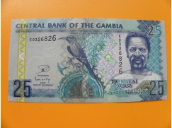 bankovka 25 gambijských dalasi /2006