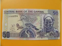 bankovka 50 gambijských dalasi /2006
