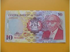 bankovka 10 lesothských maloti/1990 vvvvv