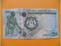 bankovka 20 lesothských maloti/2009