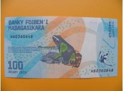 bankovka 100 madagarských ariarů/2017 rrr