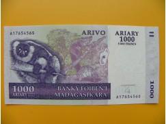 bankovka 1000 madagarských ariarů/2004 zuihztt