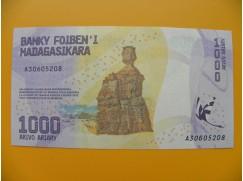 bankovka 1000 madagarských ariarů/2017 rrreeewnnw