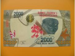 bankovka 2000 madagarských ariarů/2017 -fret jjjjjjjjjjjj