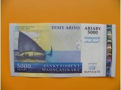 bankovka 5000 madagarských ariarů/2007 - výroční