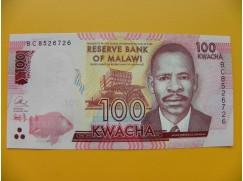 bankovka 100 malawijských kwacha/2016 dddd