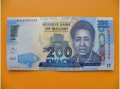 bankovka 200 malawijských kwacha/2013cccc