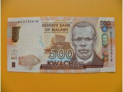 bankovka 500 malawijských kwacha/2014 ddddfffggg
