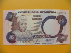 bankovka 5 nigerijských naira/2001-2002