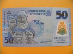 bankovka 50 nigerijských naira/2009 - polymer