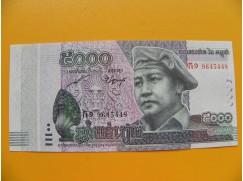 bankovka 5000 kambodžských rielů/2015