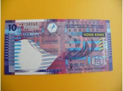 bankovka 10 hongkongských dolarů/2003