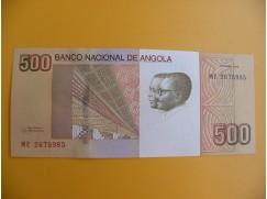 bankovka 500 angolských kwanzas/2012