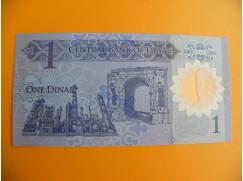 bankovka 1 libyjský  dinár/2019 - polymer