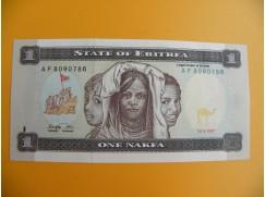 bankovka 1 eritrejská  nakfa/1997