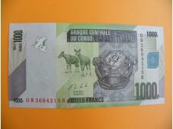 bankovka 1000 konžských franků/2013