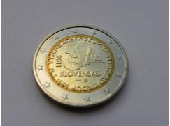 Euro mince - SLOVENSKO 20 let od založení Višegrádské skupiny  UNC 2011