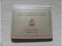 2 euromince VATIKÁN 2013 - sede vacante