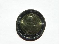 2 euro mince sběratelské Itálie 2014 UNC - Galileo