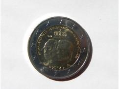 2 euro mince sběratelské Lucembursko 2014 UNC - Nástup na trůn