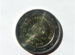 2 euro mince sběratelské Malta 2014 UNC