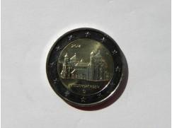 2 euro mince sběratelské Německo 2014 UNC (5ks)