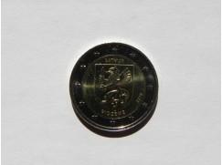 2 euro mince sběratelské Lotyško 2016 - Vidzeme - UNC