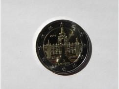 2 euro mince sběratelské Německo 2016 - Sachsen- 5ks -UNC