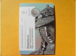 2 euro mince sběratelské San Marino 2016 - Donattello - UNC