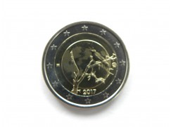 2 euro mince sběratelské Finsko 2017 UNC - Finská příroda - zv.r.