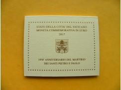 2 euro mince sběratelské Vatikán 2017 -Petr a Pavel - UNC