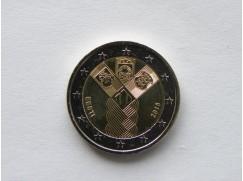 2 euro mince sběratelské Estonsko 2018 - Nezávislost - UNC