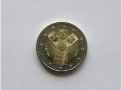 2 euro mince sběratelské Lotyšsko 2018 - Nezávislost - UNC