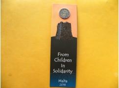 2 euro mince sběratelské Malta 2018 Kultura -BU karta