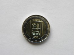2 euro mince sběratelské Malta 2018 -Kultura - z ruličky - UNC