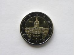 2 euro mince sběratelské Německo 2018 - 5 ks - Berlín - UNC