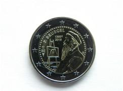 2 euro mince sběratelské Belgie 2019 - Bruegel - UNC