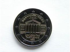 2 euro mince sběratelské Estonsko 2019 -Tartu - UNC
