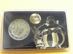 2 euro mince sběratelské Francie 2019 -Asterix a Obelix - karta BU