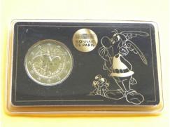 2 euro mince sběratelské Francie 2019 -Asterix - karta BU
