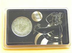 2 euro mince sběratelské Francie 2019 - Obelix - karta BU
