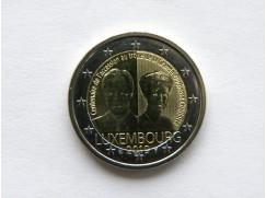 2 euro mince sběratelské Lucembursko 2019 - vévodkyně - z ruličky