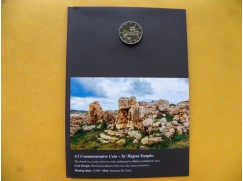 2 euro mince sběratelské Malta 2019 -Hagrat BU F