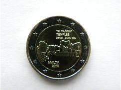 2 euro mince sběratelské Malta 2019 -Hagrat - UNC