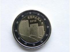 2 euro mince sběratelské Španělsko 2019 - UNC