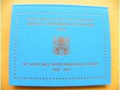 2 euro mince sběratelské Vatikán 2019 - založení