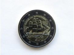 2 euro mince sběratelské Estonsko 2020 -Antarktida - UNC